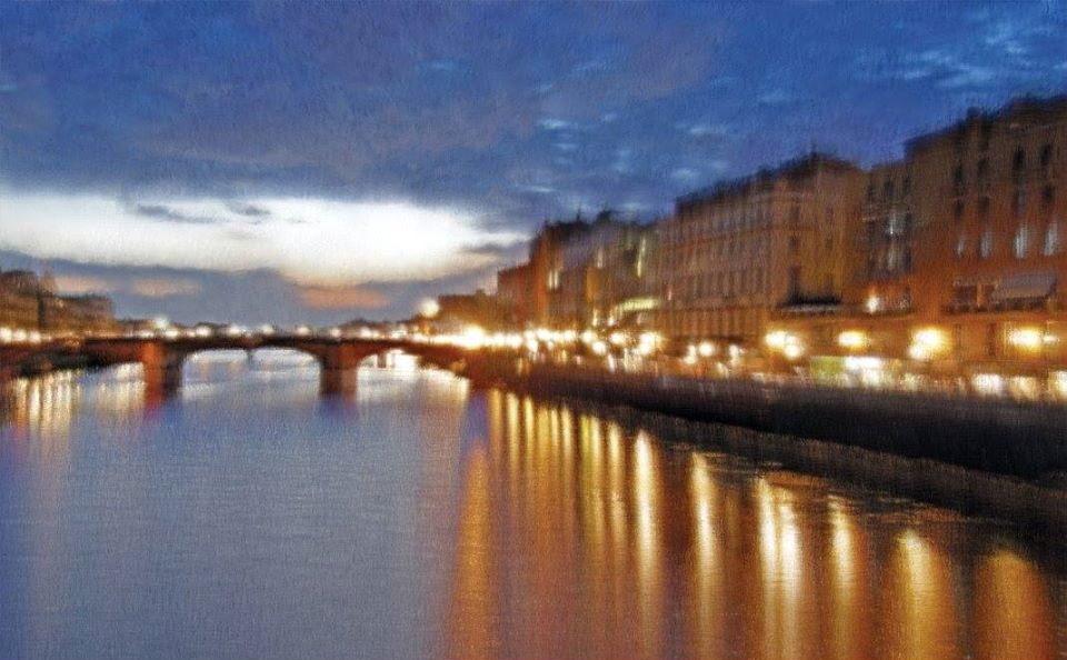 El Arno en Florencia