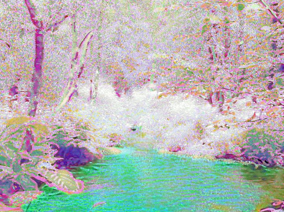 Río escondido
